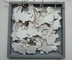 Vogeltjes van klei van MMKADO.