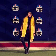 Hannah Bronfman wearing the Jimmy Choo MARLIN boot at NYFW - @hannahbronfman