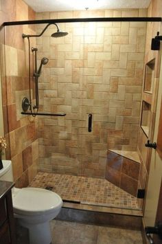 When you are looking for small bathroom remodeling design ideas, it helps to have an easy clear project plan. Because designing the perfect remodel idea for a smaller bathroom is a little bit more…MoreMore  #bathroomremodeling #easybathroomremodeling