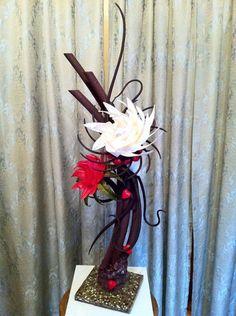 Valentine showpiece 2011. All chocolate