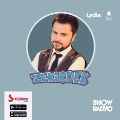 #Zekirdek hafta içi her gün 16:00'da #Dijibox #ShowRadyo'da. #music #eğlenceli #mood #popmusic #musicnews