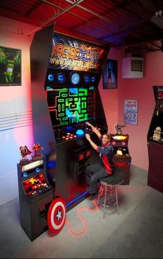 Worlds largest arcade machine