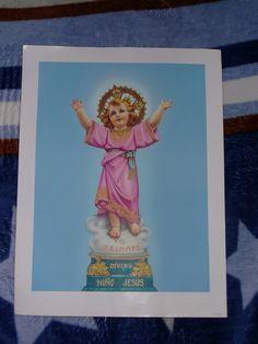 Afiche Grande del Divino Niño Jesús