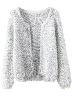 Shop Long Sleeve Mohair Grey Coat online. SheIn offers Long Sleeve Mohair Grey Coat & more to fit your fashionable needs.
