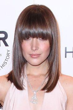 Rose Byrnes sexy, sleek hairstyle