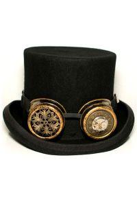 Steampunk Goggles - Uhrwerk und Ornamente