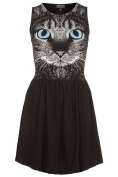 SO COOL! Is Topshop's New Cat Dress Cool or Completely Crazy?   Catster