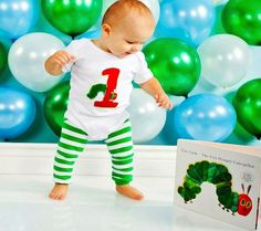 very+hungry+caterpillar+birthday+party+ideas | The Cutest Clothes for Baby's First Birthday | Disney Baby