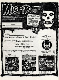 Misfits Fiend Club  via insectosmx