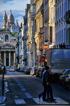 the fact that we took this exact picture from this exact spot.... dream come true. Rue Lafitte, Paris IX