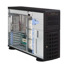 Supermicro SuperChassis Chassis - Rack-mountable, Tower - Black - - 11 x Bay - 5 x Fan(s) Installed - 2 x 920 W - ATX, Eatx Motherboard Supported - 62 lb - 3 x External Bay - 8 x External Bay - Slot(s) - 2 x USB(s) Micro Computer, Computer Case, Pc Components, Drive Bay, Usb, Macbook Pro Case, Computer Accessories, Locker Storage, Cool Things To Buy