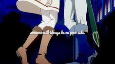 Akagami no Shirayuki-hime - Snow White with the Red Hair - Zen and Shirayuki - Someone will always be on your side.