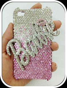 iPhone 4 or 4S Bling Barbie Pink Case by iHeartWireless on Etsy, $59.95