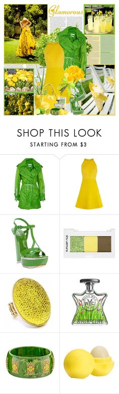 """Glamorous..."" by purplecherryblossom ❤ liked on Polyvore featuring ASOS, Altuzarra, Karen Millen, Casadei, Kate Spade, shu uemura, Fantasy Jewelry Box, Bond No. 9, Mark Davis and Eos"