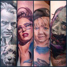 Valentina Ryabova Tattoos