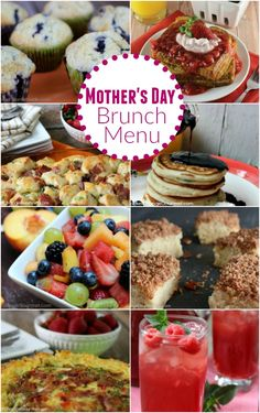 Why not start Mom's day off right with a special breakfast in bed, a hearty brunch, or even a muffin and juice. These Mother's Day Brunch Recipes are easy and budget friendly!