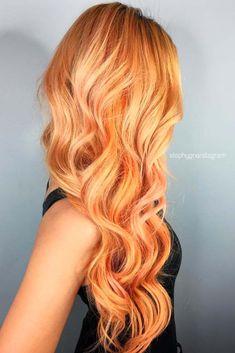 Cute Peach Hair picture1