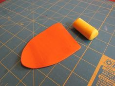 Picture of Making the Polymer Clay Cane Step the Orange Ring Egg Dye, Egg And I, Easy Projects, Easter Eggs, Polymer Clay, Mango, Fruit, Simple, How To Make