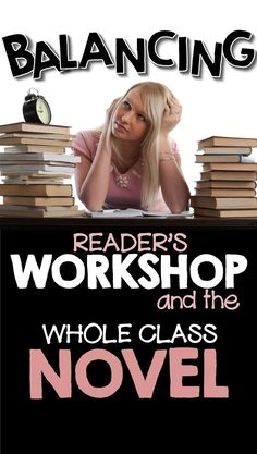 How do you find a balance between independent reading and the full class novel? (Geared for high school, but has some ideas to apply to lower grades! Reading Lessons, Reading Strategies, Teaching Reading, Reading Activities, Guided Reading, Reading Resources, Teaching Tools, Teaching Kids, Middle School Reading