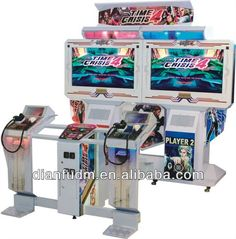 Coin operated Electronic Time Crisis 4 Arcade machine (Double players) DF0136 $2000~$2500