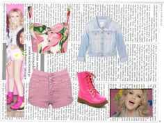 """""""Sin título #104 (Perrie Edwards-Wings)"""" by antooh-piola ❤ liked on Polyvore"""