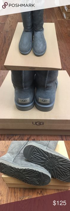 Ugg Australia - Classic Tall - Gray Brand new in box classic tall grey uggs. UGG Shoes Winter & Rain Boots
