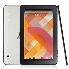 """Dragon Touch A1 Plus 10.1"""" Quad Core Google Android 4.4 KitKat Tablet PC, Allwinner A33 Cortex A7 CPU, 8GB Nand Flash, 10.1 inch Multi-Touch Screen, Dual Camera, Google Play Pre-installed, Netflix, Skype, 3D Game Supported [ by TabletExpress 2015 New Model ]"""