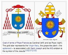 Coat of arms of the illuminati | Pope Francis - Decoding the Coat of Arms