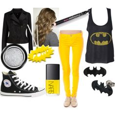 super+heros+shopping+for+clothes | Superhero Inspired Outfits #1 - Polyvore