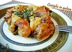 Coniglio in galera Duck Or Rabbit, Duck Recipes, Gluten Free, Favorite Recipes, Chicken, Cooking, Blog, Olive, Dinner