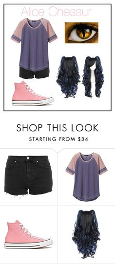 """""""Alice Chessur - The Cheshire Cat"""" by p3ych0tic-fangir1 ❤ liked on Polyvore featuring Topshop, prAna and Converse"""