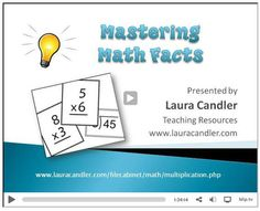 Laura Candler's Multiplication File Cabinet   Multiplication Teaching Resources   Scoop.it