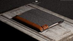 The organic textures of the wool and leather case truly compliment the high tech finish of the iPad. Leather Craft, Leather Bag, Hard Graft, Gadgets, Contemporary Fashion, Things To Buy, Luxury Lifestyle, Ipad Case, Wool Felt