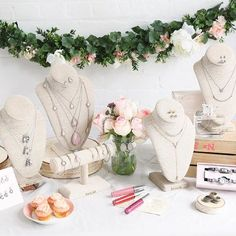 Chloe + Isabel. Pastel jewelry love! Mother's Day gift ideas. Spring Wedding bridal jewelry ideas.
