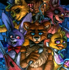 Five Nights at Freddy's / FNaF by Mizuki-T-A.deviantart.com on @DeviantArt