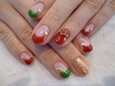 「no,143 クリスマスカラー◇サーカスフレンチ」の画像|POOLのネイルデザインblog |Ameba (アメーバ)