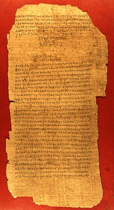 The Oldest Surviving Fragment from the Gospel of Luke (175 CE – 225 CE) : HistoryofInformation.com