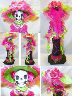 La Catrina Dos Collage by *mihijime on deviantART