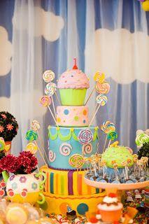 Encontrando Ideias: Tema Cupcake.