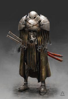 Concept Art: Samurai Cyborg - 2D Digital, Concept artCoolvibe – Digital Art