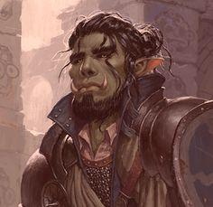 Dungeons And Dragons Art, Dungeons And Dragons Characters, Dnd Characters, Fantasy Characters, Fantasy Art Men, Fantasy Races, Fantasy Warrior, Fantasy Portraits, Character Portraits