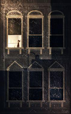 Dark and rainy. by PascalCampion