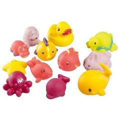 Set 12 jucarii de baie pentru fete, A104921, Babymoov [3661276009783] - articole copii recomandate pentru Jucarii baie