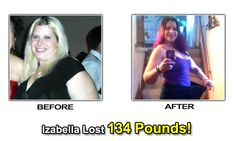 izabella weight loss success before after photos