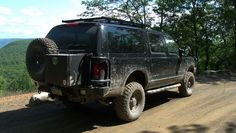 Ford Excursion Overland Off Road Hobo Vista Bald Eagle State Forest 22 Ford Excursion Diesel, Off Road Bumpers, Lincoln Aviator, State Forest, Expedition Vehicle, Ford Trucks, Bald Eagle, Hot Wheels, Offroad