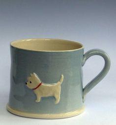 Jane Hogben westie mug