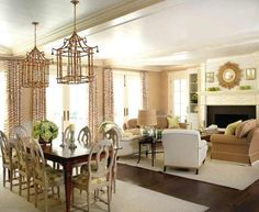 Luxury living dining room combo Living Rooms and Lounges
