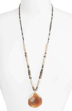 Main Image - Nakamol Design Long Agate Pendant Necklace