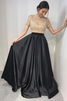 Black Two Pieces Prom Dress, Back To School Dresses, Prom Dresses For Teens, Pageant Dress, Graduation Party Dresses Best Formal Dresses, Prom Dresses Two Piece, Prom Dresses For Teens, Backless Prom Dresses, Black Prom Dresses, Prom Dresses With Sleeves, Short Dresses, Party Dresses, Dress Party