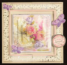 Floral Shimmer Luxury Card Collection by Hunkydory Crafts (4011836)